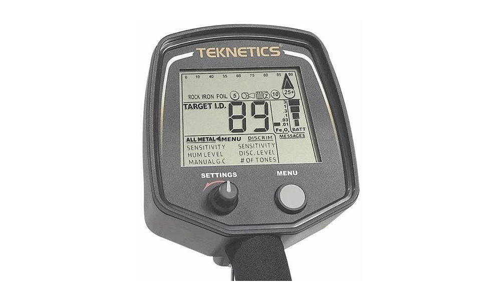 Metalldetektor Teknetics T2 plus